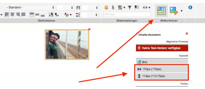 Knowledgebase - Bilder skalieren 2